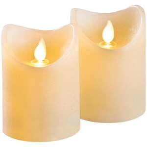 IDEENWELT 2er Set LED-Kerzen