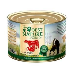 Best Nature Katzenfutter Adult Rind und Pute mit Karott 0.50 EUR/100 g