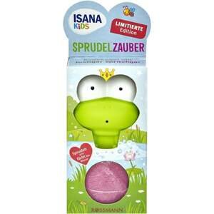ISANA Kids Sprudelzauber Badekugel mit lustiger Spritzfigur