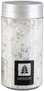 Dekosand - weiß/silber - 370 ml