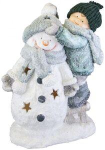 Winterkind - aus Magnesia - 34 x 20 x 44 cm