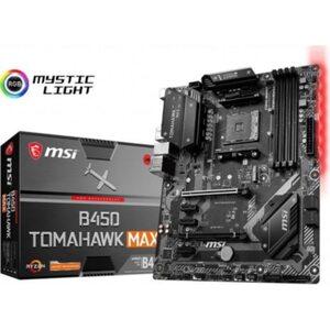 MSI B450 Tomahawk Max ATX Mainboard Sockel AM4 M.2/DVI/HDMI/USB3.2(Typ C)