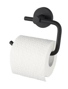 Badkomfort WC-Rollenhalter, Toilettenpapierhalter schwarz