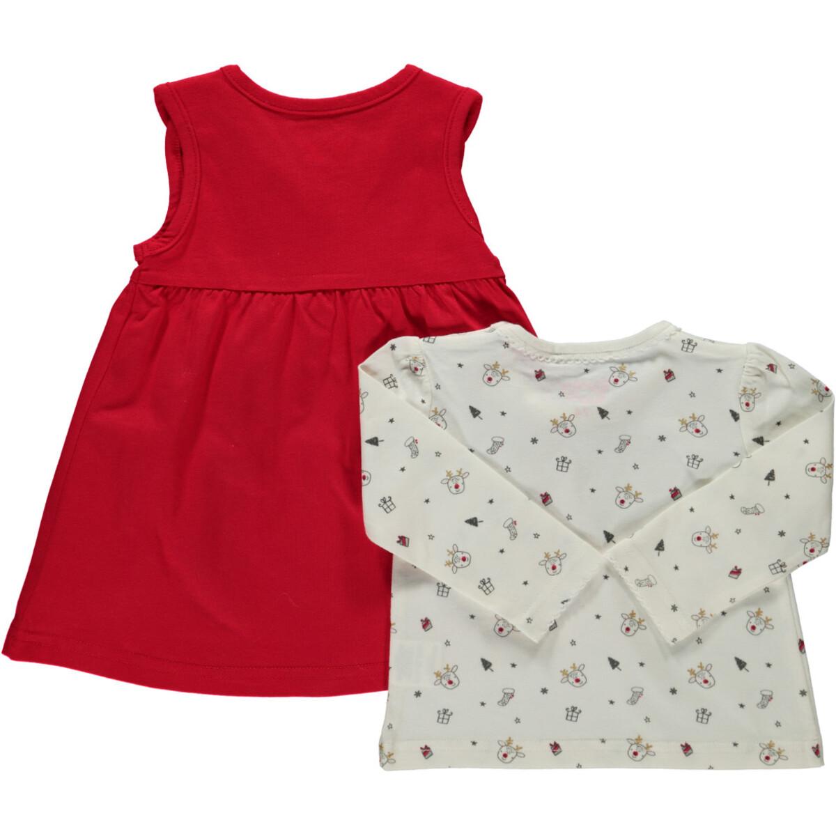 Bild 2 von Baby Set, best. aus Langarmshirt und Kleid