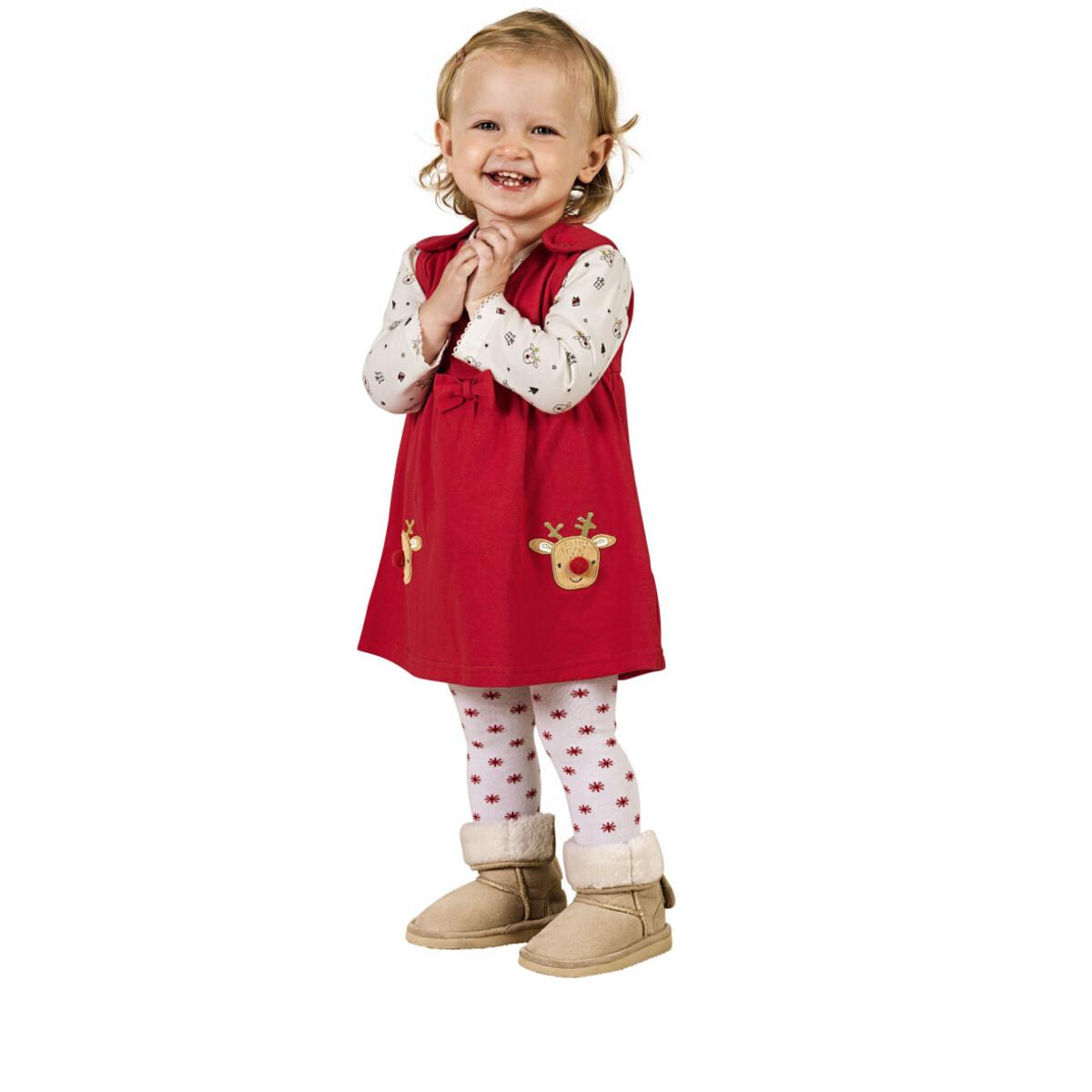 Bild 4 von Baby Set, best. aus Langarmshirt und Kleid