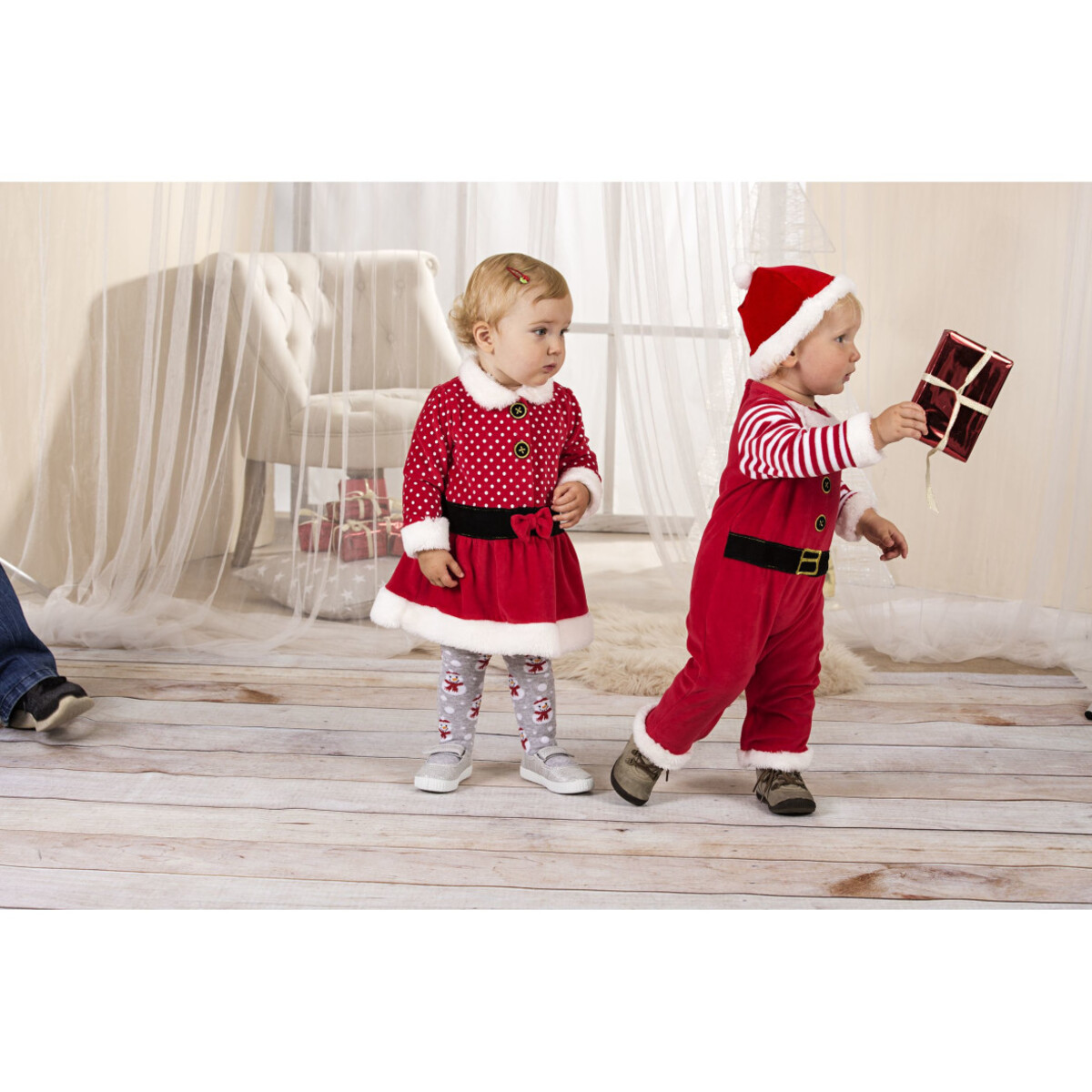 Bild 4 von Baby Weihnachtskleid