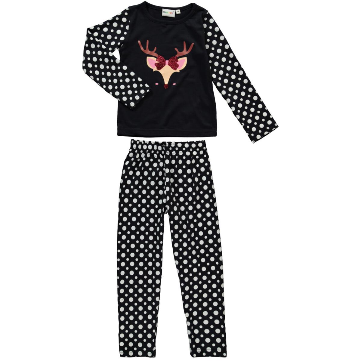 Bild 1 von Mädchen Pyjama Set mit lustigem Print