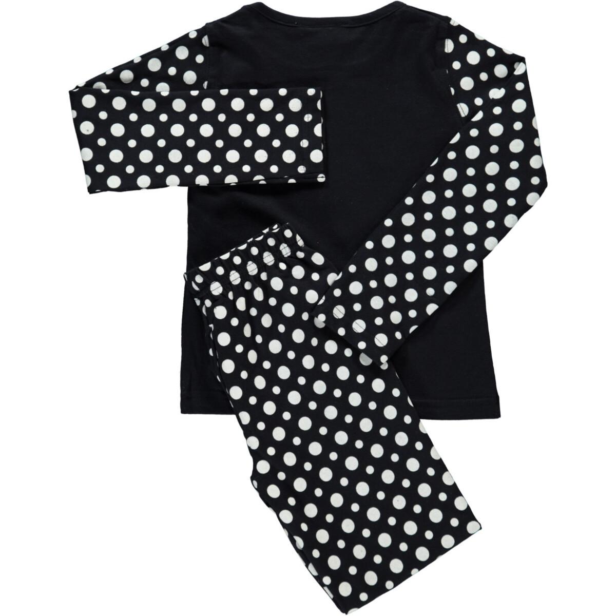 Bild 2 von Mädchen Pyjama Set mit lustigem Print