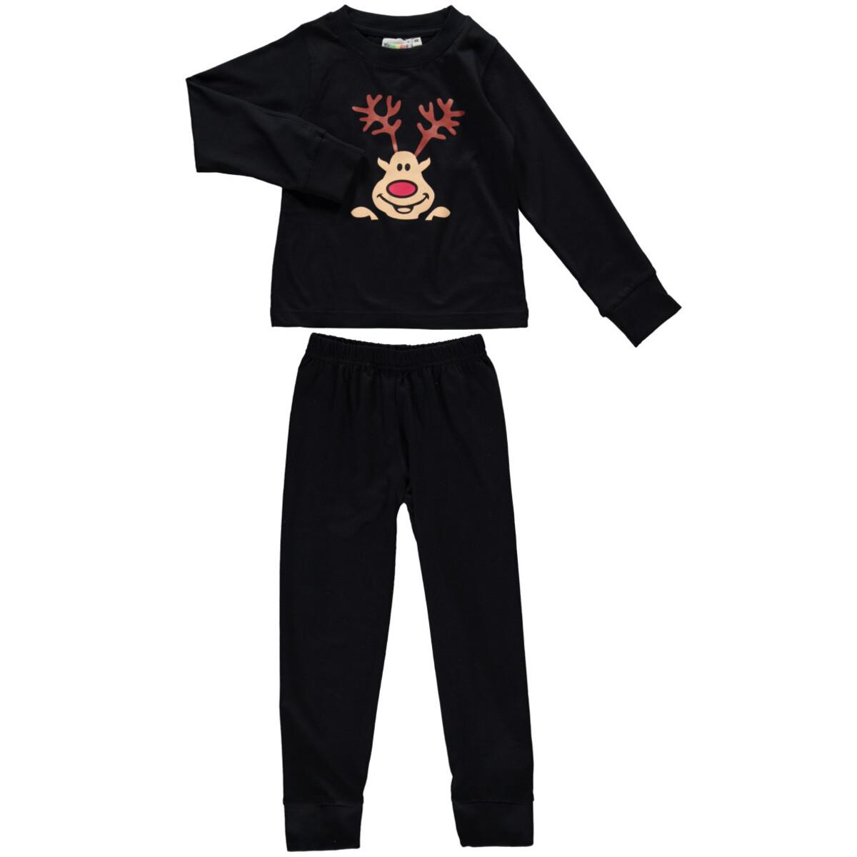 Bild 1 von Jungen Pyjama Set mit Elchgesicht
