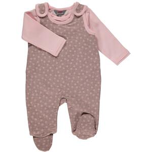 Baby Mädchen Strampler mit Langarmshirt