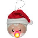 Bild 2 von LED Christbaumkugel, Santa 6,5cm hoch