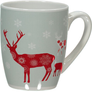 Tasse aus Porzellan mit Weihnachtsmotiv 350ml