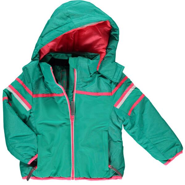Mädchen Skijacke mit Kapuze