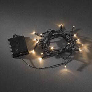 Konstsmide              LED- Außenlichterkette, mit Sensor und Timer, 20 Dioden