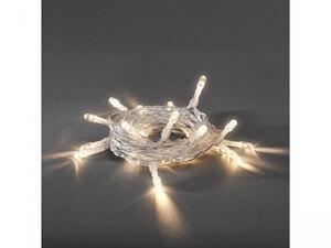 Konstsmide              LED-Lichterkette, 10 Dioden, warmweiß