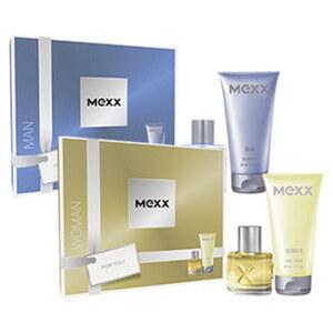 Mexx Geschenkpackung Woman oder Man EDT 20 ml/Bodylotion 50 ml oder EDT 30 ml/Showergel 50ml jede Packung