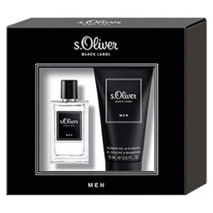 S.Oliver Black Label Men Duo Set EDT 30ml und Duschgel 75ml jede Packung