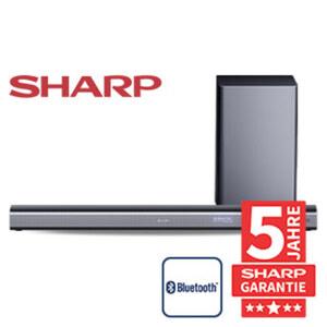 3.1-Bluetooth®-Soundbar HT-SBW460 mit Funk-Subwoofer • 440 Watt RMS • optischer Audio-Eingang, Aux-/HDMI-/USB-Anschluss • inkl. Aux- und HDMI-Kabel • Maße Soundbar: H 7 x B 95 x T 11 cm •