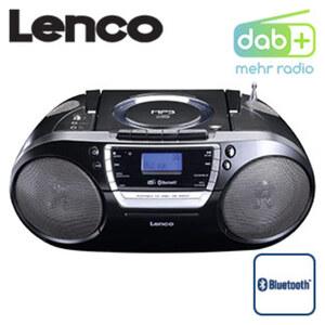Bluetooth®-/DAB+-Radio SCD-690BK • CD-Player, MP3, Kassettenplayer • PLL-FM-Radio • 4 Lautsprecher • USB-/Aux-Anschluss • Netzbetrieb