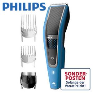 Haarschneider HC5612/15 Series 5000 · Akku-/Netzgerät · 28 Längeneinstellungen von 0,5 bis 28 mm · Trim-n-Flow Pro-Technologie für kontinuierliches Schneiden · 3 Kammaufsätze