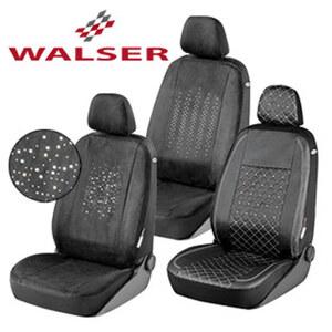 Swarovski Auto-Sitzbezug versch. Ausführungen in Nappa- oder Alcantara-Kunstleder, Basic Zipp-It System,