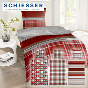 Feinbiber-Bettwäsche 100 % Baumwolle 135 x 200/80 x 80 cm, 155 x 220/80 x 80 cm 39,95 €