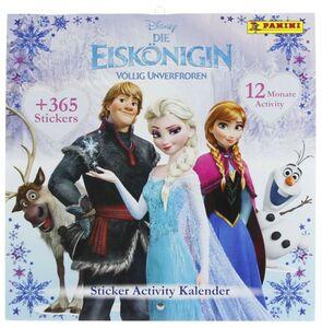 Die Eiskönigin - Sticker Activity Kalender - Immerwährender Kalender
