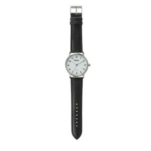 Mebus Quarz-Armbanduhr für Herren Ziffernblatt in Weiß