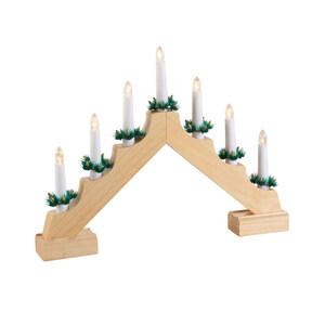 Kerzenbrücke mit LEDs und Timerfunktion