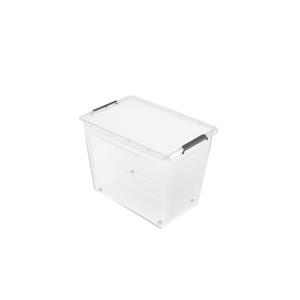 keeeper Aufbewahrungsbox Clipbox mit Rollen 80 Liter