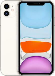 Apple iPhone 11, 15,5 cm (6.1 Zoll), 1792 x 828 Pixel, 128 GB, 12 MP, iOS 13, Weiß