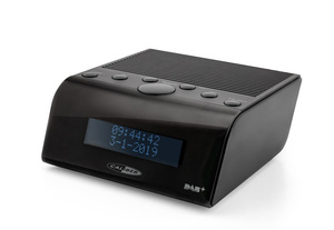 Caliber DAB+ Radio HCG011DAB,  Alarmfunktion, FM, Farbe: Schwarz