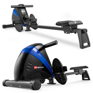 Hop-Sport Rudergerät HS-030R Boost Rudermaschine Ruderzugmaschine blau