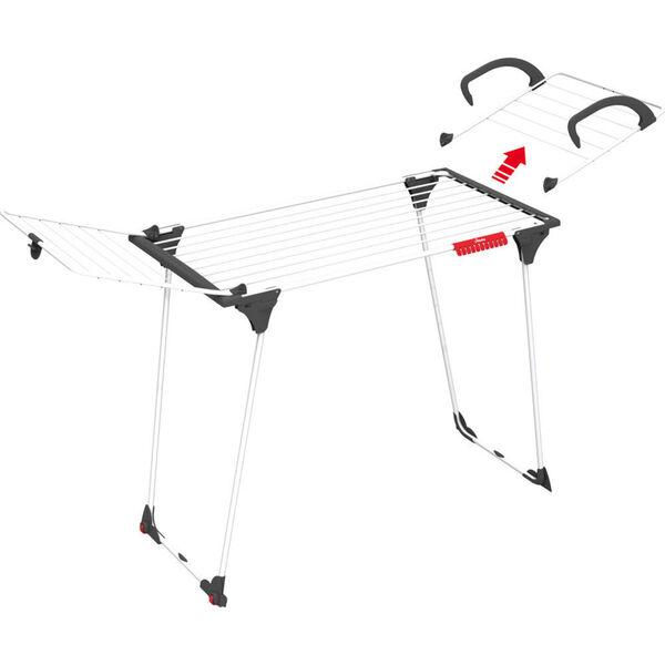 Vileda Flügelwäscheständer Premium 2in1 Wäschetrockner Wäscheständer NEU