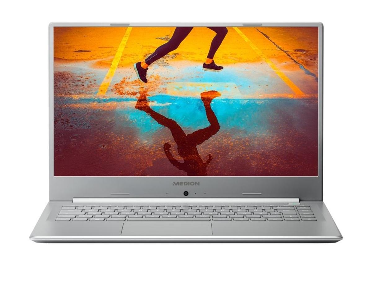 Bild 1 von Medion FHD Notebook 39,5cm (15,6 Zoll) S6445, Intel Core i5-8265U, 8GB DDR 4 RAM, 512GB, 1TB HDD, Windows 10 Home