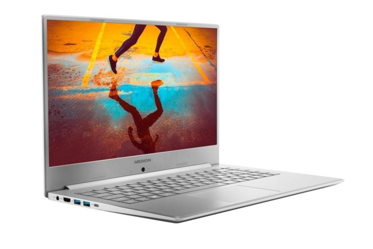 Bild 3 von Medion FHD Notebook 39,5cm (15,6 Zoll) S6445, Intel Core i5-8265U, 8GB DDR 4 RAM, 512GB, 1TB HDD, Windows 10 Home
