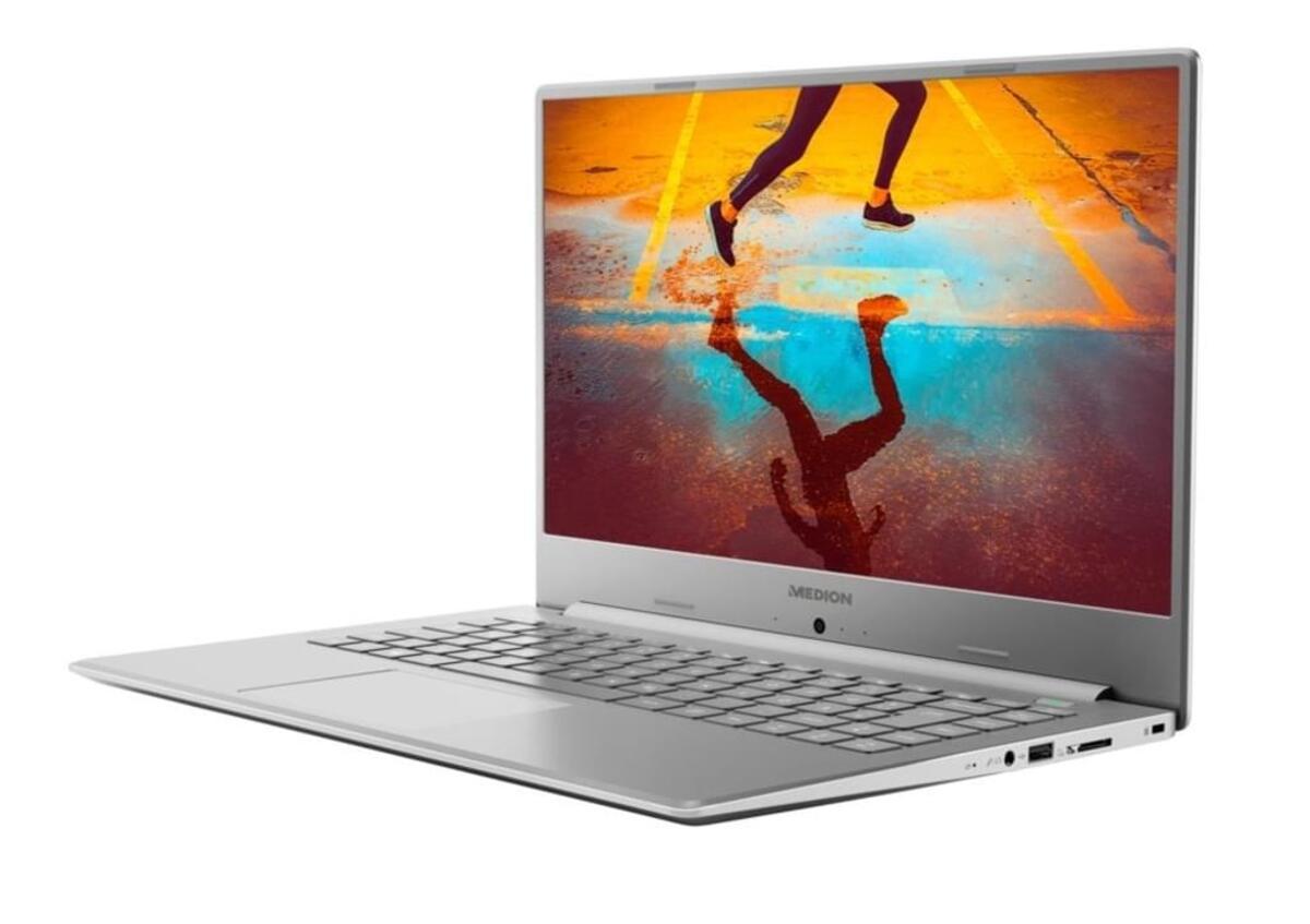 Bild 5 von Medion FHD Notebook 39,5cm (15,6 Zoll) S6445, Intel Core i5-8265U, 8GB DDR 4 RAM, 512GB, 1TB HDD, Windows 10 Home