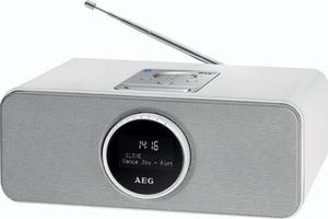 AEG DAB+/UKW PLL Radio SR 4372 BT/DAB+ weiß