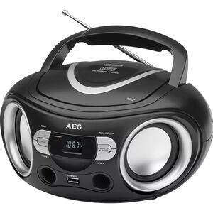 AEG Stereo Radio Schwarz SR 4374