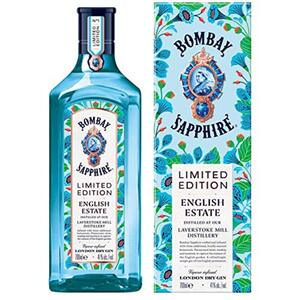 Bombay Sapphire English Estate Limited Edition Promo| 41 % vol | 0,7 l