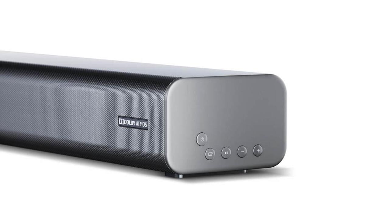 Bild 3 von SHARP 3.1 Dolby Atmos Soundbar mit virtuellem 3D Surround Sound und kabellosem Subwoofer, Bluetooth, 4K-Erlebnis, HT-SBW460