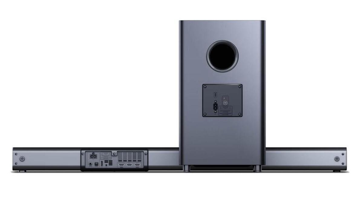 Bild 4 von SHARP 3.1 Dolby Atmos Soundbar mit virtuellem 3D Surround Sound und kabellosem Subwoofer, Bluetooth, 4K-Erlebnis, HT-SBW460