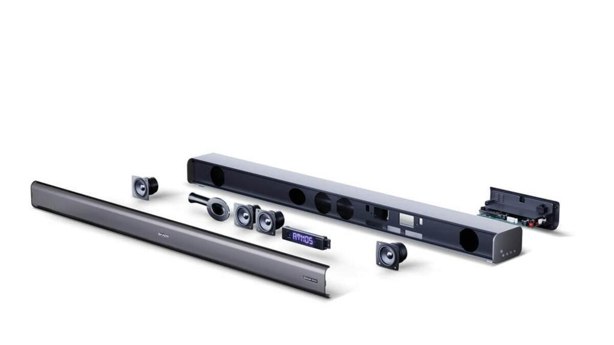 Bild 5 von SHARP 3.1 Dolby Atmos Soundbar mit virtuellem 3D Surround Sound und kabellosem Subwoofer, Bluetooth, 4K-Erlebnis, HT-SBW460