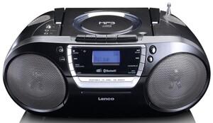 Lenco DAB+ und FM Radio, CD MP3 USB BT SCD-690BK