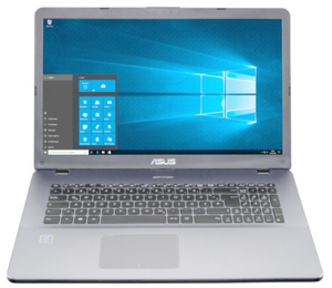 Asus Laptop 43,94cm (17,3 Zoll) F705UA-BX831T , 4GB RAM, 1TB Speicher, Windows10