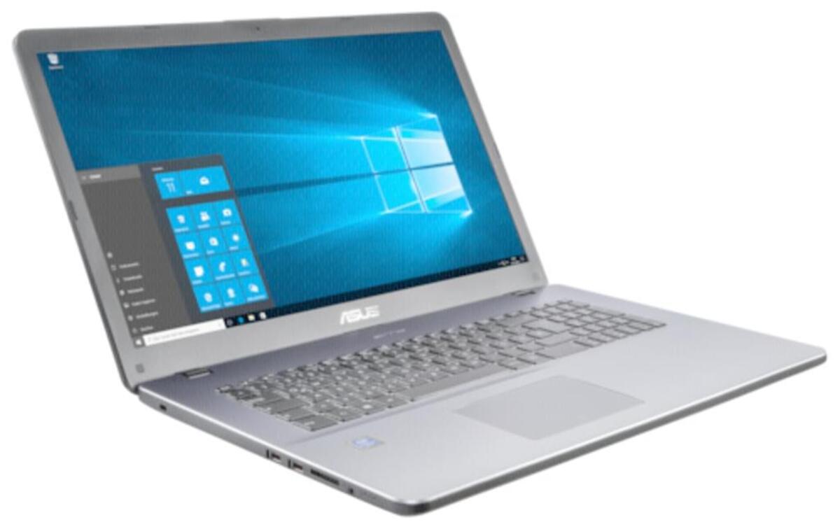 Bild 2 von Asus Laptop 43,94cm (17,3 Zoll) F705UA-BX831T , 4GB RAM, 1TB Speicher, Windows10