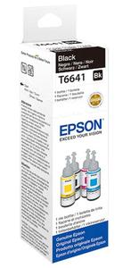 Original EPSON Tinte T6641 für EcoTank bottle ink schwarz