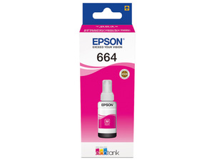 Original EPSON Tinte T6643 für EcoTank bottle ink magenta