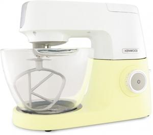 Kenwood Küchenmaschine Chef Sense KVC5100Y Gelb 4,6L Glasschüssel 1200 Watt