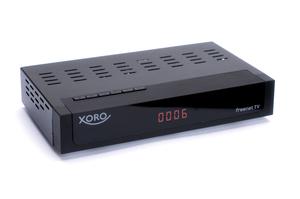 XORO Sat-Receiver HRT8729, Terrestrisch, DVB-T,DVB-T HD,DVB-T2, 1080p, AVI, MKV, MP4, MPG,TS, H.264,H.265,HEVC, MPEG1, MPEG2, MPEG4, Farbe: Schwarz